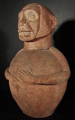 An Exemplary & Earliest Etruscan Cinerary Urn