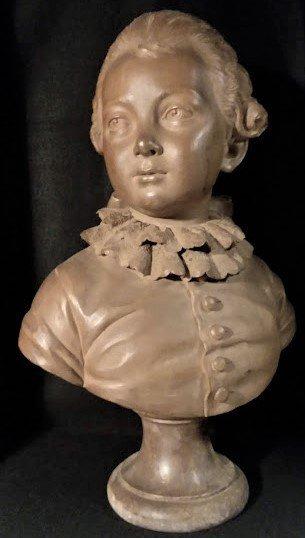 Augustin Pajou, 1774 Bust, Marquis de Lubersac