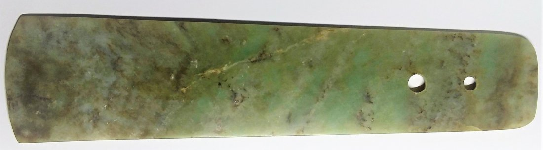 Ancient Longshan Large Jade Blade