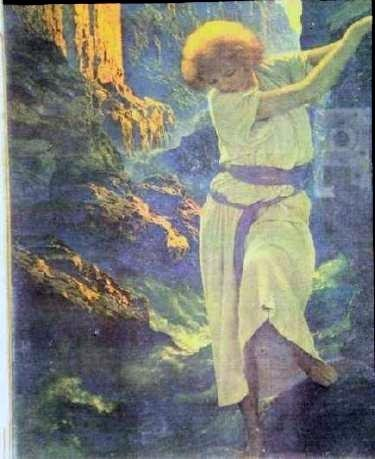 1: THE CANYON - MAXFIELD PARRISH