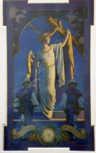 6: SPIRIT OF THE NIGHT - MAXFIELD PARRISH