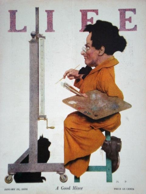 13: LIFE MAGAZINE - MAXFIELD PARRISH
