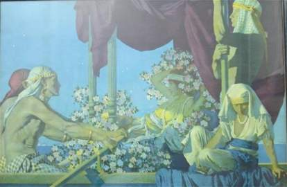 131: CLEOPATRA - MAXFIELD PARRISH