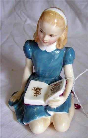 4001: Royal Doulton Figurine - Alice