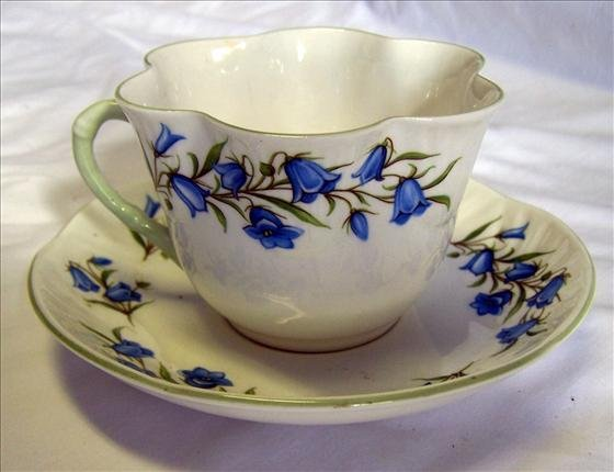 4014: Cup and saucer Bluebell
