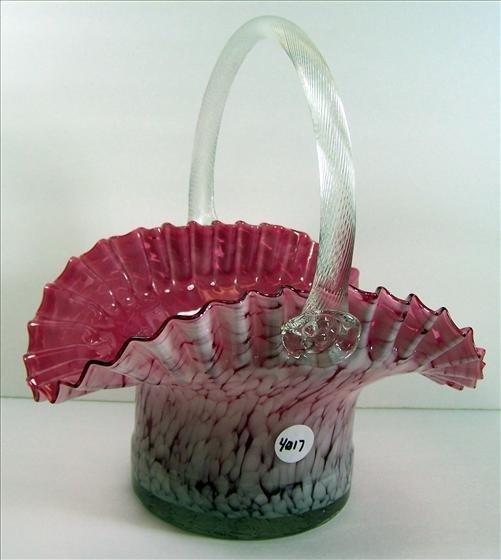 """4017: Murano Lg Vase 13"""" X 12"""""""