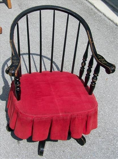 2001: Antique Windsor type chair