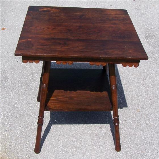 2006: Antique square table