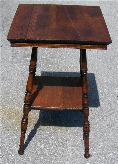 2008: Antique square table