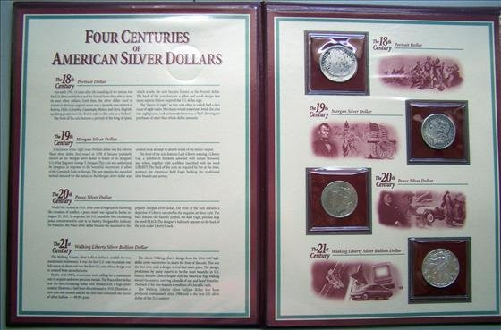 5001: Four Centuries of American Silver Dollars