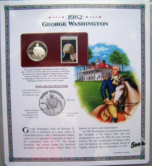 5002: U. S. Commemorative Silver Half Dollar