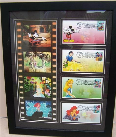 5007: Framed First Day of Issue & Film Strip