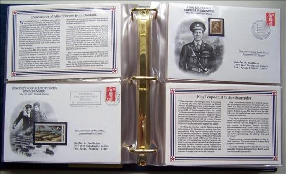 5017: World War II Commemorative Covers
