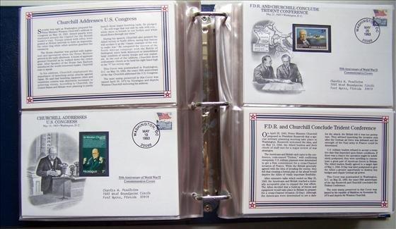 5018: World War II Commemorative Covers