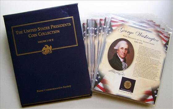 5024: United States Presidents Coin Collection