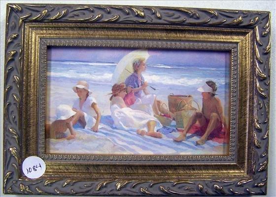 1084: No Name Family On Beach