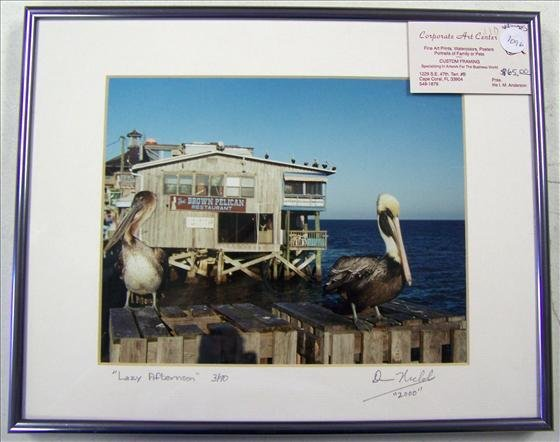 1096: Lazy Afternoon Pelican By Nichols