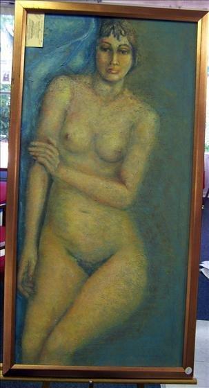 1099: Self Portrait Original Oil