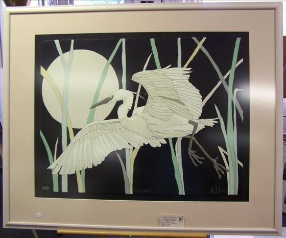 1100: Snowy Egret Artist Proof