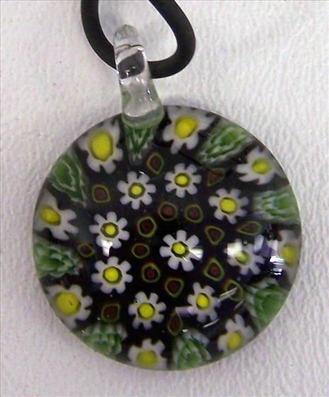 """3001: Murano necklace - 18"""""""