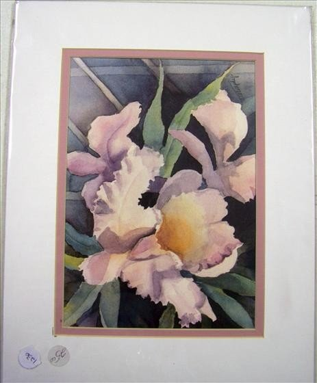 """1230: Orchid By T. Murphy 20"""" X 9"""""""