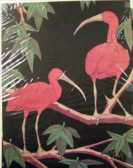 1241: Red Birds Set of 2 Artist Proofs