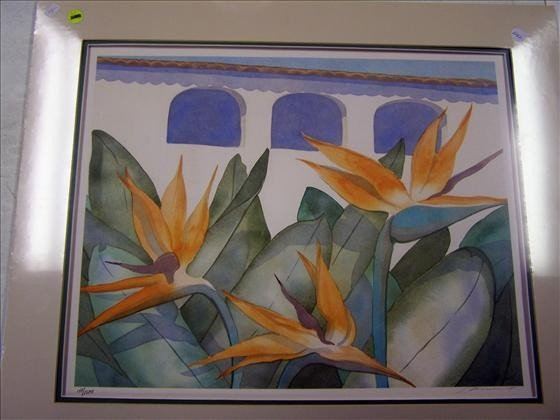 1242: Birds Of Paradise Watercolor