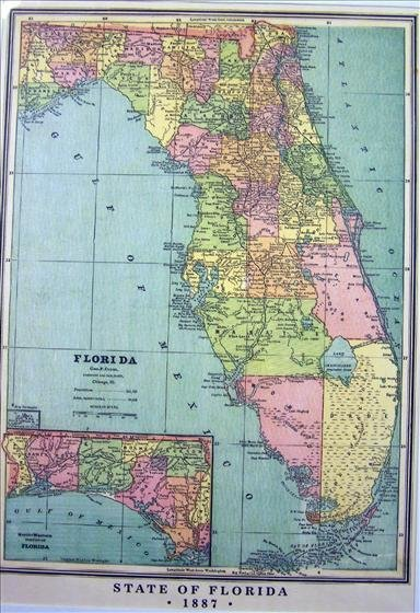 1251: Map - State Of Florida