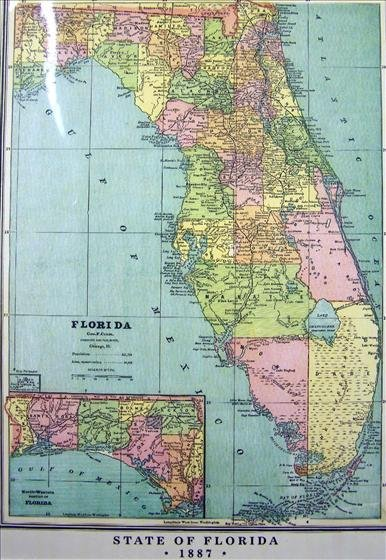 1252: Map - State Of Florida