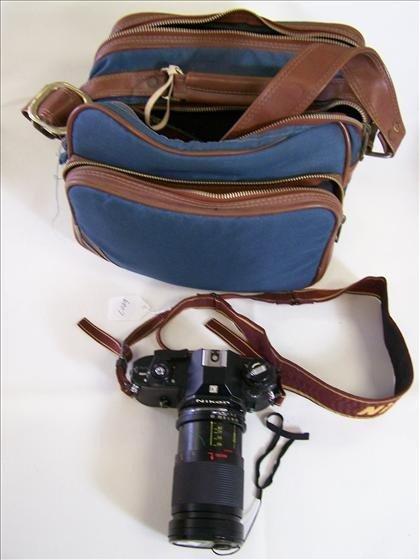 6007: Camera Nikon Em 28 - 80mm