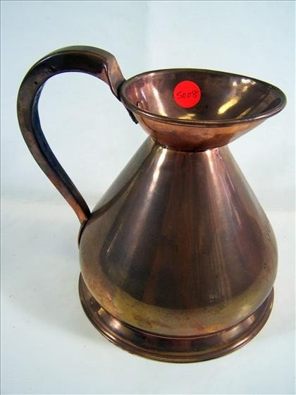 5008: Copper pitcher - pewter