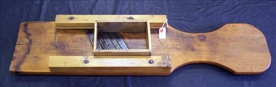 5015: Wood Sauerkraut cutter with slide box