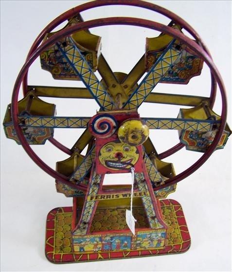 5120: Ferris Wheel Wind up - Metal - Cheng