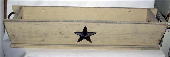 3011: Wood window planter