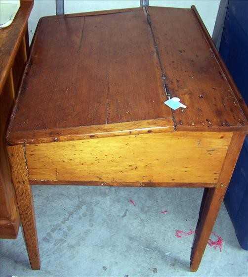 - 3127: Antique Slant Top Desk