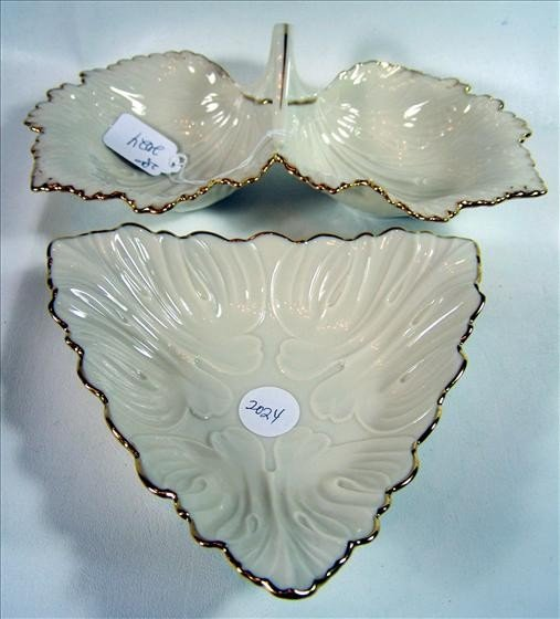 2024: 2 pc Lenox candy dishes