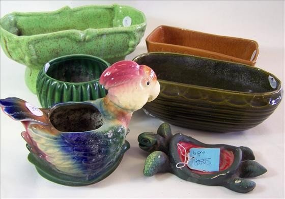 8005: 6 assorted planters sizes and makers