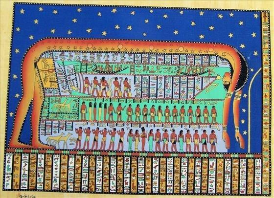 8011: Papyrus -W/Guarantee Certificate - Egypt