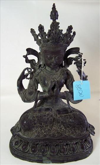 8020: Die cast weighted Hindu princess figure