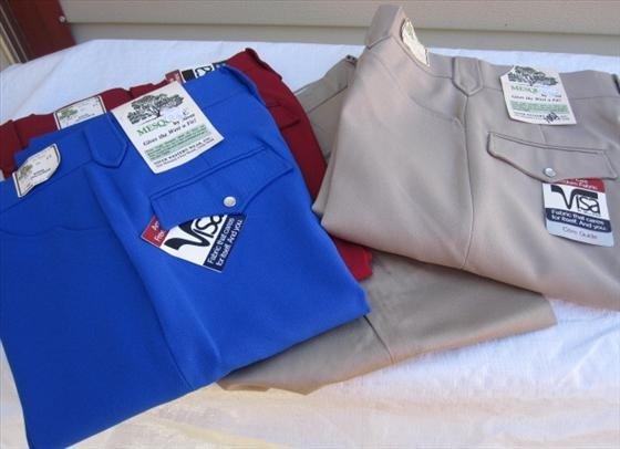1001: 4 pr. Men's Slacks/Pants -  Size 28