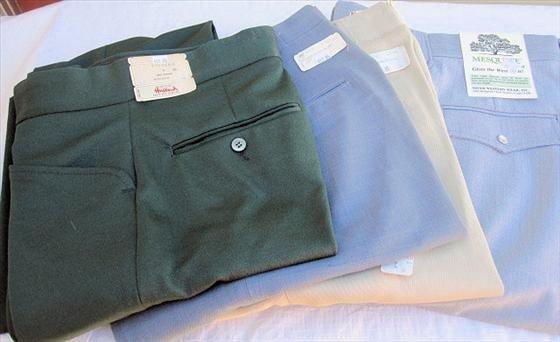 1003: 4 pr. Men's Slacks/Pants -  Size 28