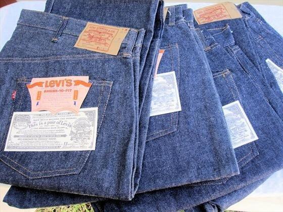 1008: 4 pr. Men's Levi's   Blue Jeans