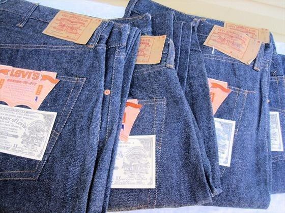 1009: 5 pr. Men's Levi's   Blue Jeans