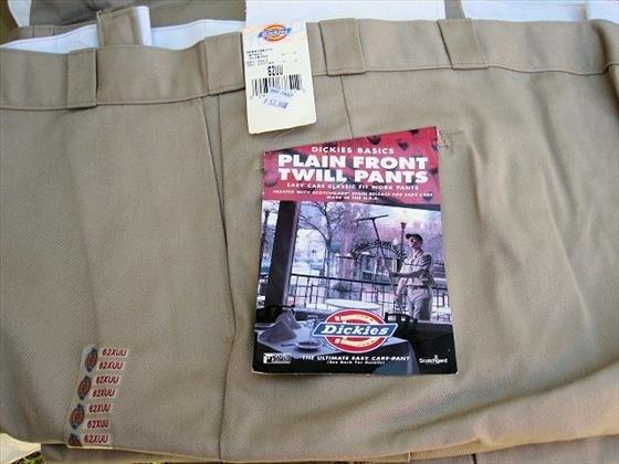 1010: 4 pr. Men's Dickies Work Pants