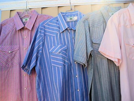 1014: 4 Men's Shirts, Short Sleeve
