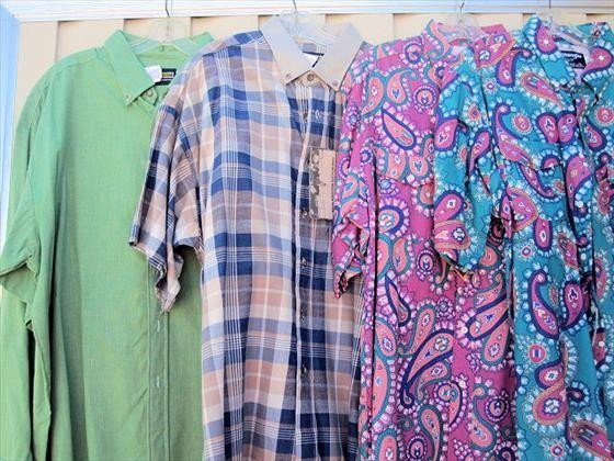 1015: 4 Men's Shirts, Short Sleeve