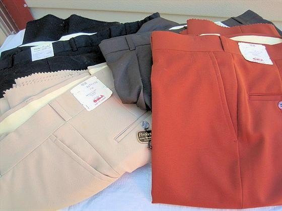 1018: 4 pr. Men's Slacks/Pants