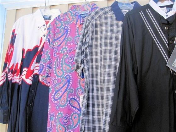 1019: 4 Men's Shirts, Long & Short Sleeve