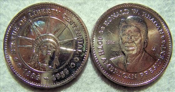 3010: Two Commemorative medals