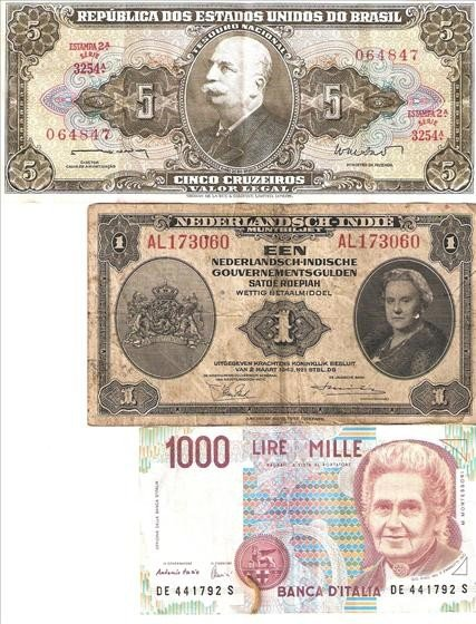 3015: 3 Foreign Currency Bills